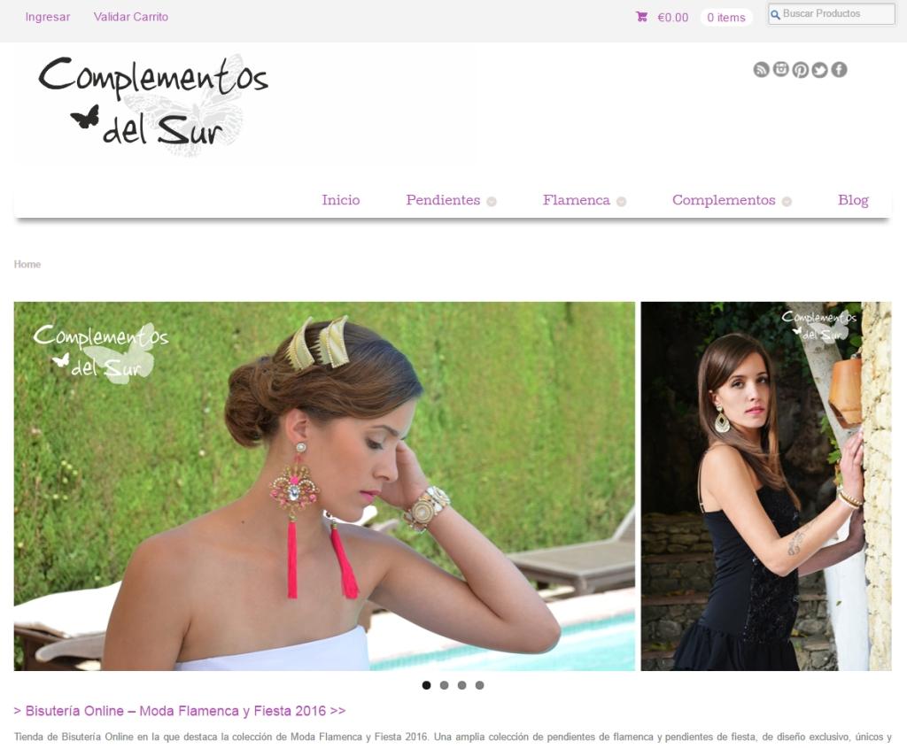 Bisutería Online - Moda Flamenca y Fiesta 2016