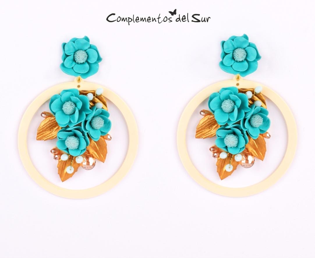 pendientes-flamenca-con-flores